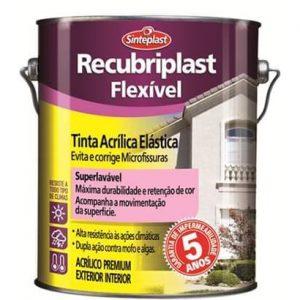 Manta Acrílica Flexível Recubriplast Flexível