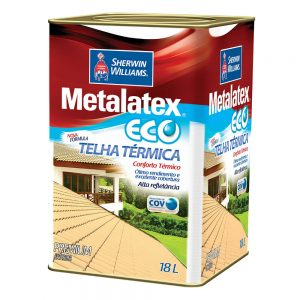 Resina Brilhante Térmica Metalatex Eco Sherwin Williams