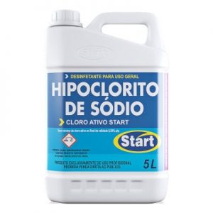 Hipoclorito De Sódio – Cloro Ativo Start