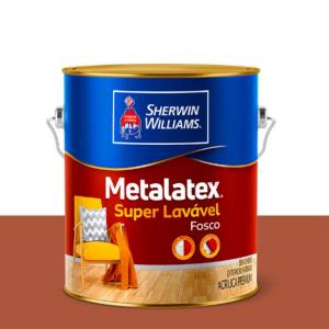 Tinta Látex Metalatex acrílica fosco 3,6L Branco Sherwin Williams
