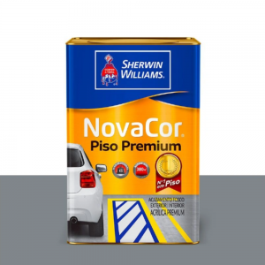 Tinta acrílica Novacor piso liso Sherwin Williams